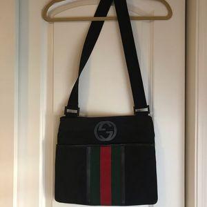 Gucci Parana Web Messenger Bag